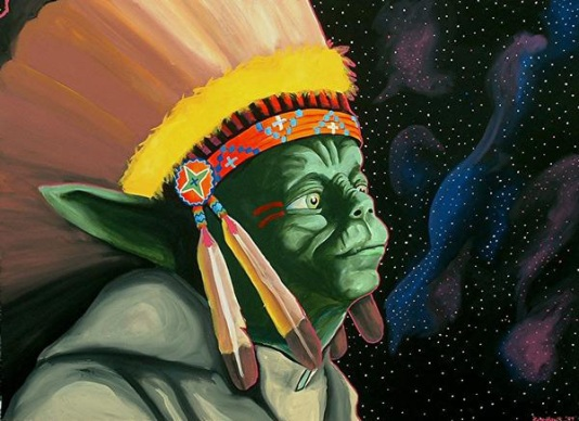 Bunky Echo-Hawk 'If Yoda Was an Indian'