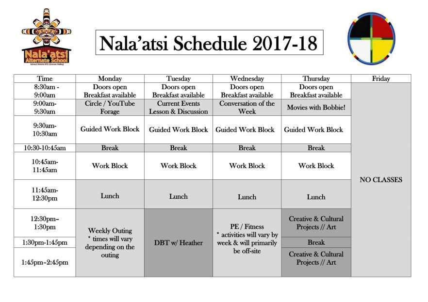 2017-2018 Nala'atsi Schedule-1